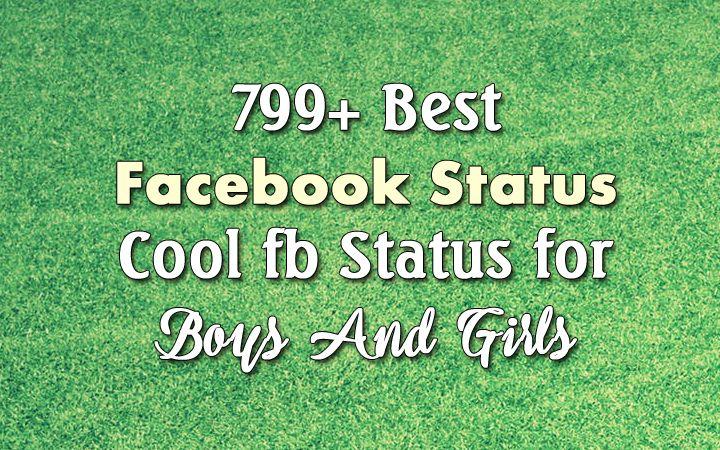 Facebook Status - Best FB Status Quotes About Love, Attitude, Funny