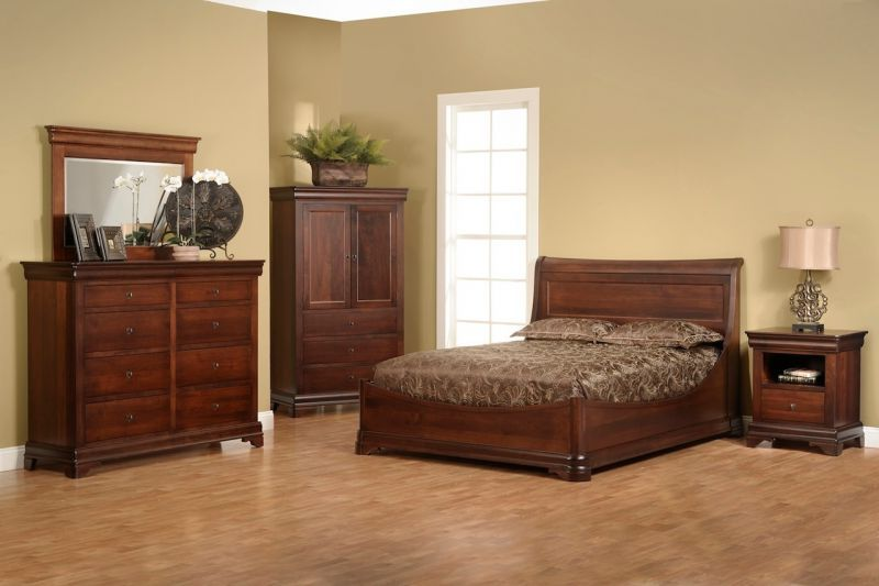 Cheap Solid Wood Bedroom Furniture Sets Design
