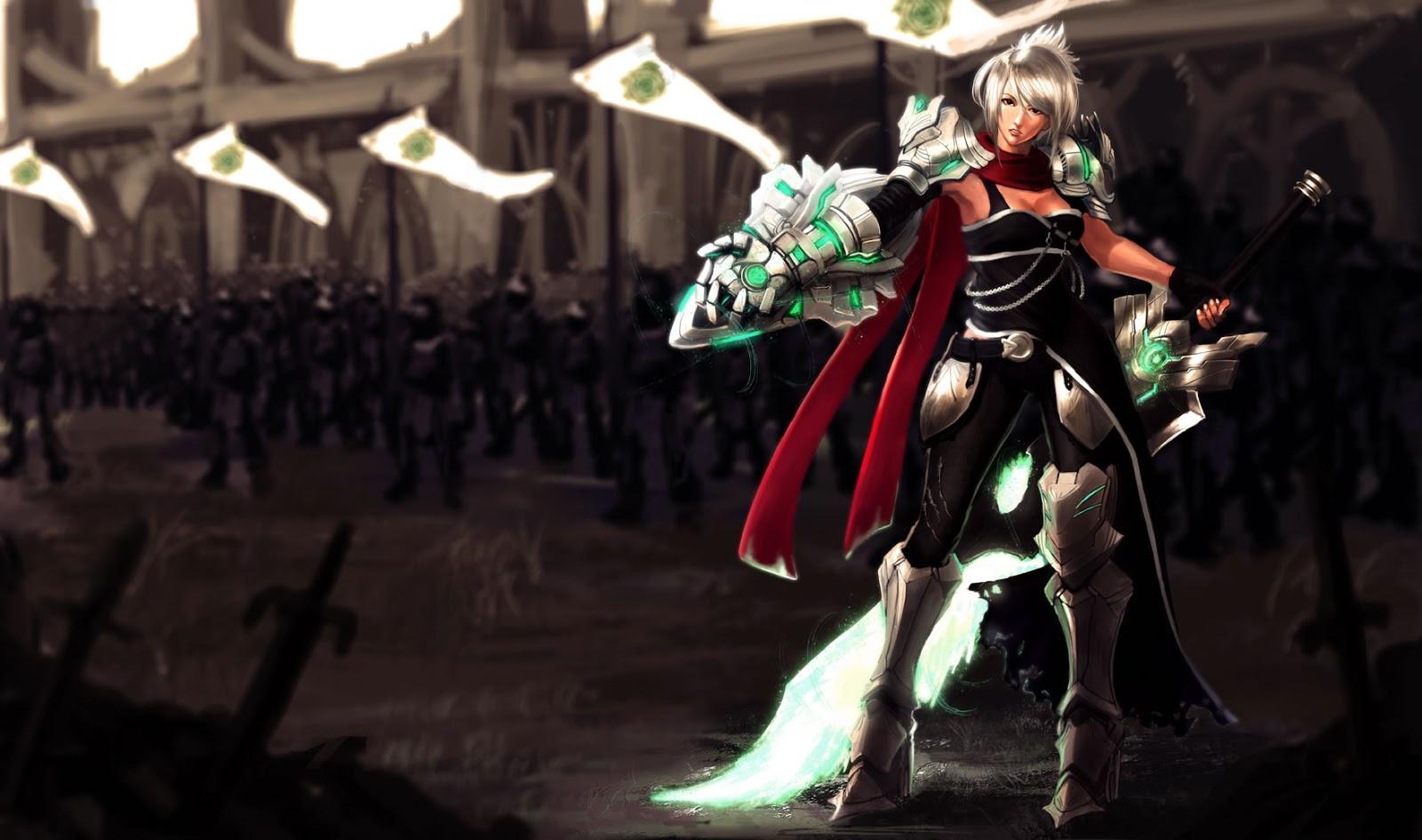 Nerfplz League Of Legends Riven Wallpapers Chineseamerican
