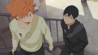 "Hellominju.com : ハイキュー!! アニメ 第4期5話 空腹 (烏野高校)   Haikyuu!! Season4 Ep.5 Haikyuu!! ""Hunger""   Hello Anime !"
