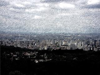 Pedra Grande - Vista de São Paulo