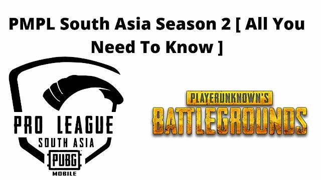 PMPL South Asia Season 2