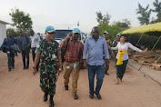 Satgas TNI RDB Terima Kunjungan COE Bukavu di Republik Demokratik Kongo