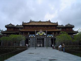 Puerta del Mediodía. Ciudad Imperial. Hue, Vietnam