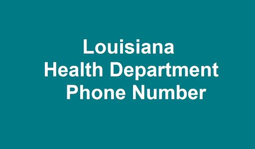 Louisiana Health Department Phone Number