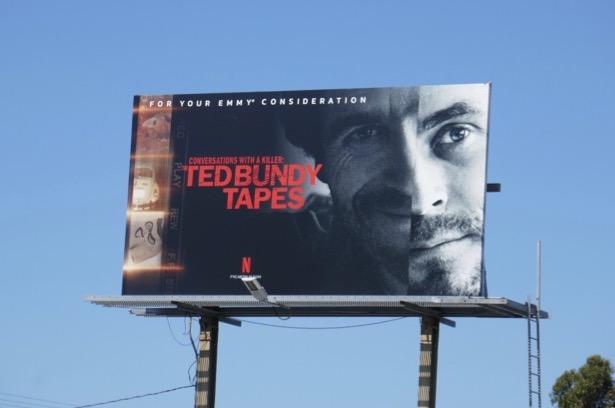 Ted Bundy Tapes Emmy FYC billboard