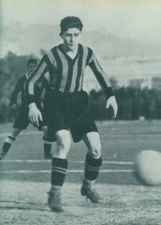Giuseppe Meazza made his Inter debut as a 17-year-old