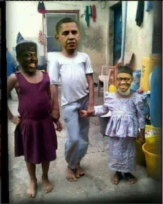 See What They Did To President Obama, Buhari And Governor Okorocha