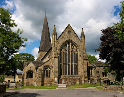 St Mary's Church, Horsham, location for this year's English Music Festival