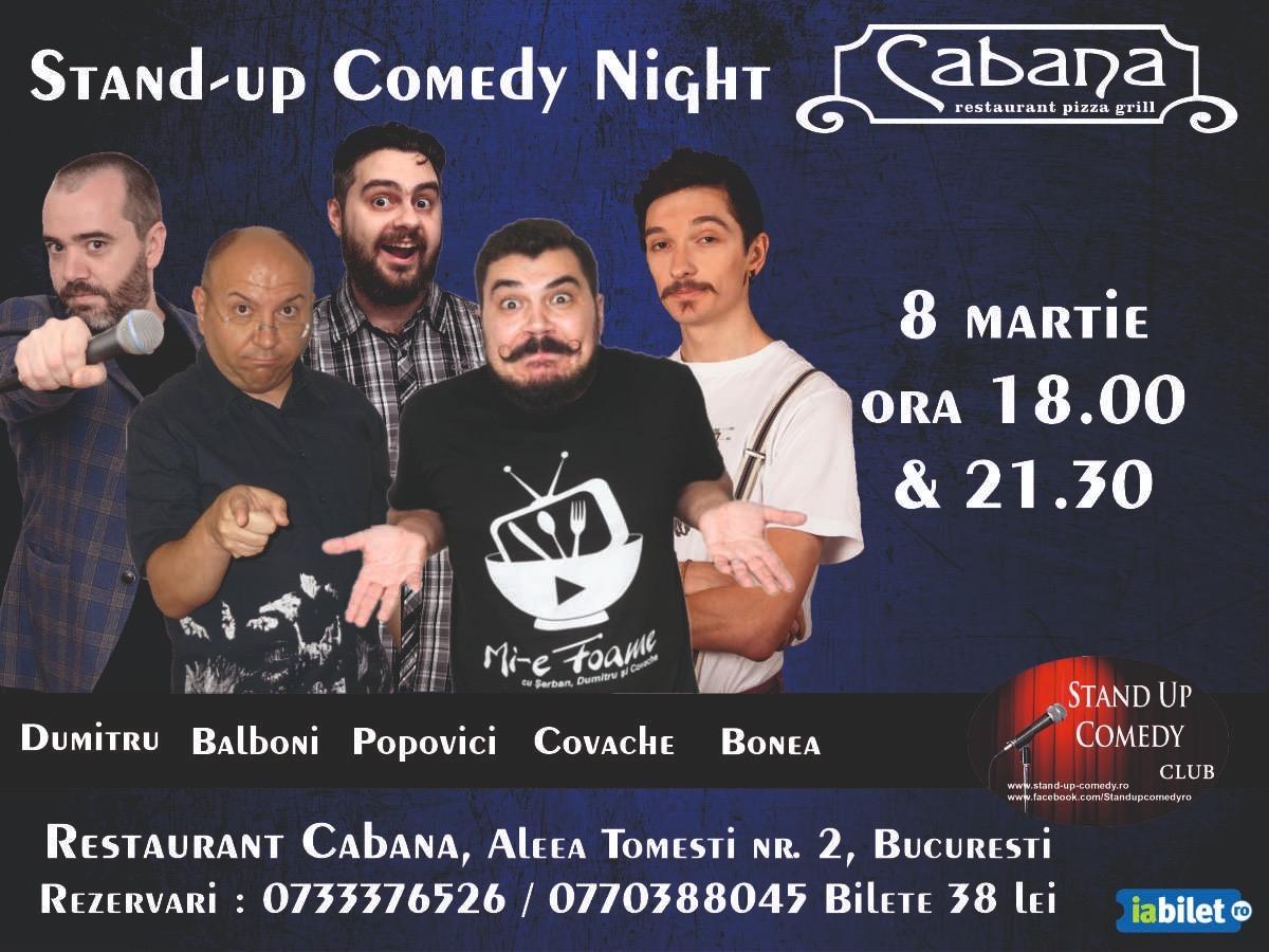 Stand-Up Comedy 8 Martie Ziua Femeii