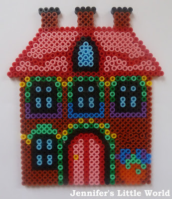 Hama bead cottage design