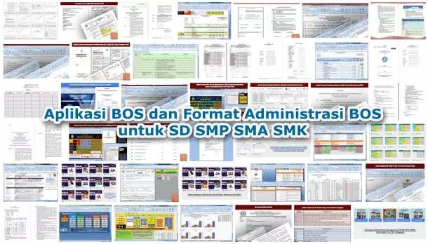 Aplikasi BOS dan Format Administrasi BOS untuk SD SMP SMA SMK