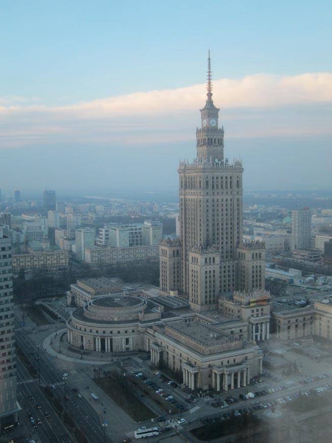 palais des sciences et de la culture varsovie