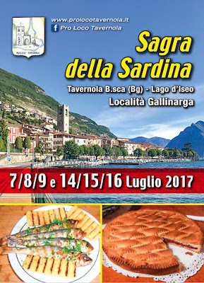 Sagra della Sardina 7-8-9-14-15-16 luglio Tavernola B.sca (BG)
