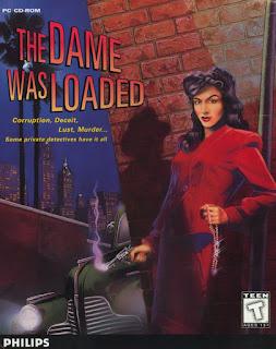 Portada videojuego The Dame Was Loaded