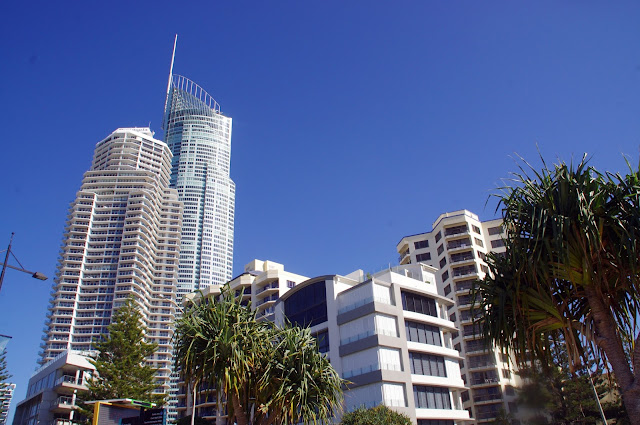 Surfers Paradise Q1 Building and Skyscrapers