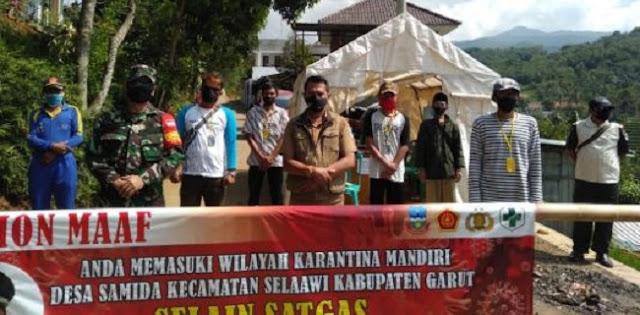 Kasus Positif Covid-19 Masih Terjadi, Satu Kampung Kembali Jalani Karantina Mandiri