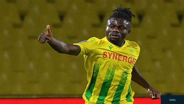 Moses Simon Strike Helps Nantes Stun Paris Saint-Germain