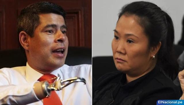 Luis Galarreta y Keiko Fujimori - Elecciones 2021