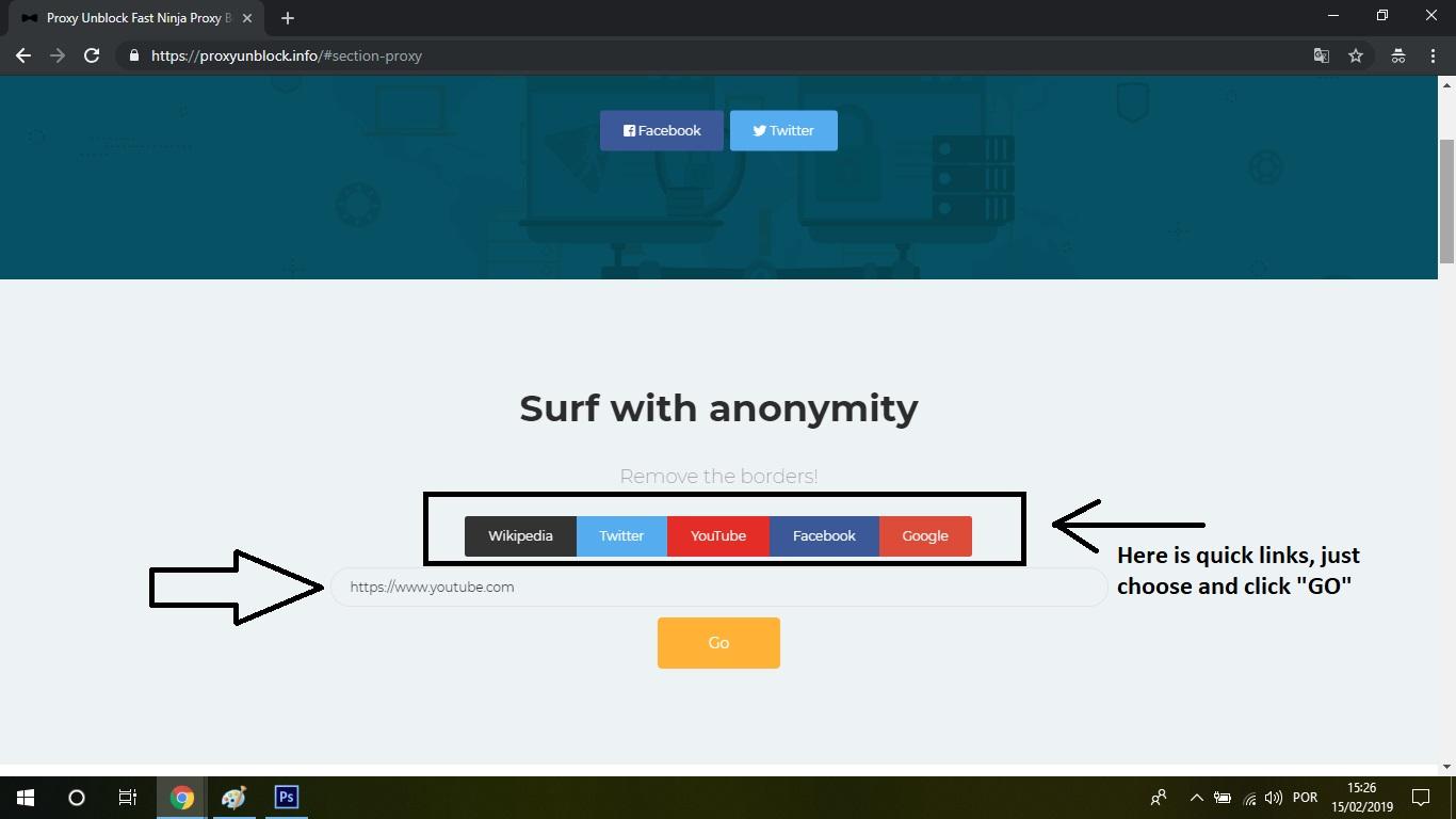 Proxy Unblock Fast Ninja Proxy Best Easy Unblock Video Proxy