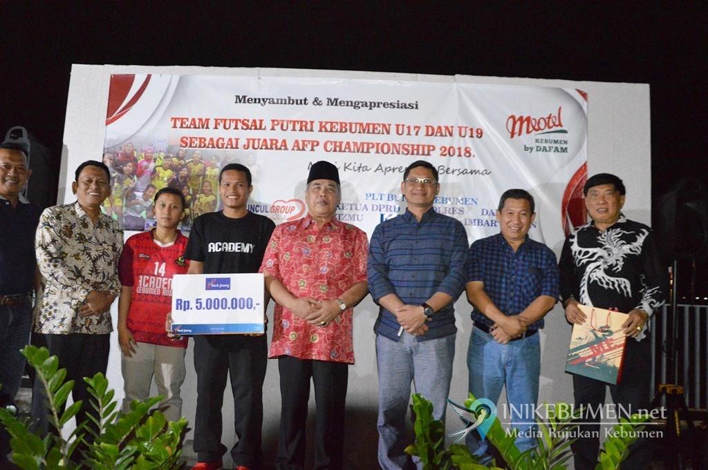 Kebumen Butuh Lapangan Futsal Berstandar Internasional