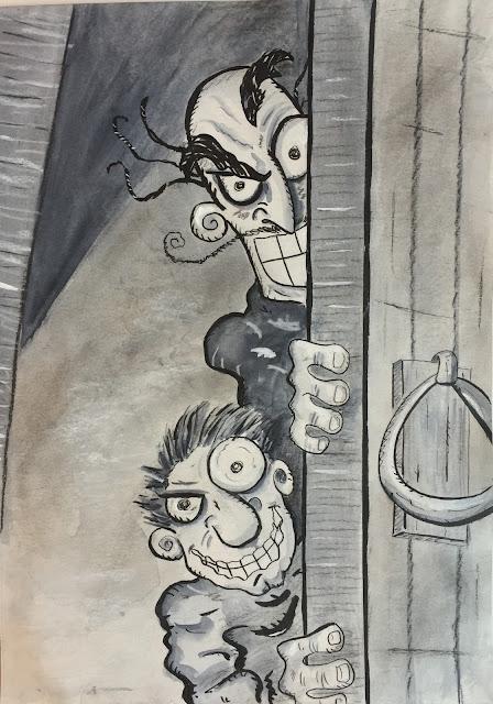Dibujo de Israel Campos