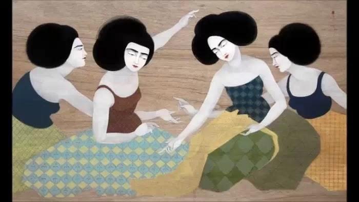 Иракский художник. Hayv Kahraman