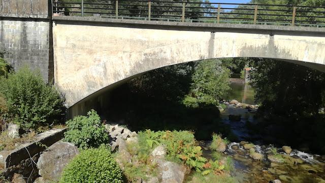Ponte sobre o Rio Homem em terras de Bouro