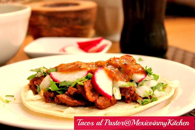 How To Make Tacos Al Pastor At Home Cómo Hacer Tacos De Trompo En Casa
