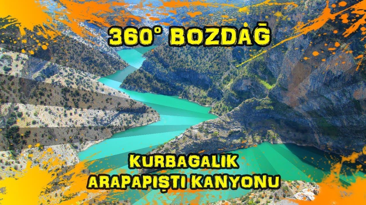 2019/04/23 360° Bozdağ (Kurbağalık ~ Arapapıştı (İnceğiz) Kanyonu ~ Kemer)