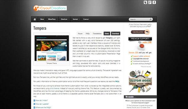 Tempara-WordPress-Theme