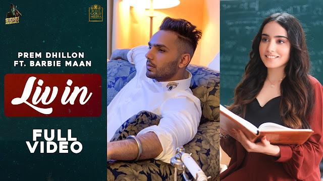 LIV IN Lyrics - Prem Dhillon ft Barbie Maan | Sidhu Moose Wala | Latest Punjabi Songs 2020 Lyrics Planet