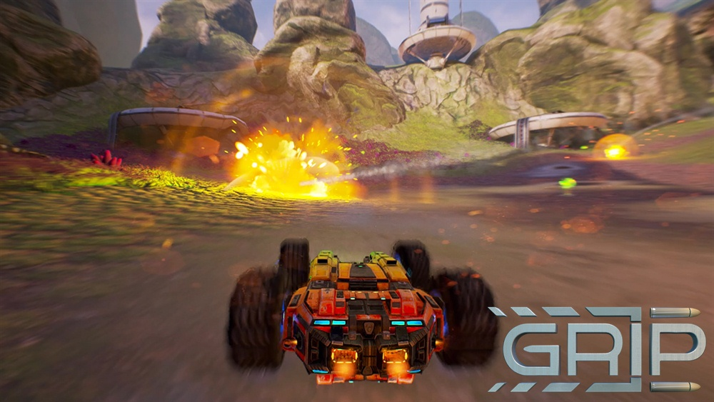 Grip PC Game Download Poster