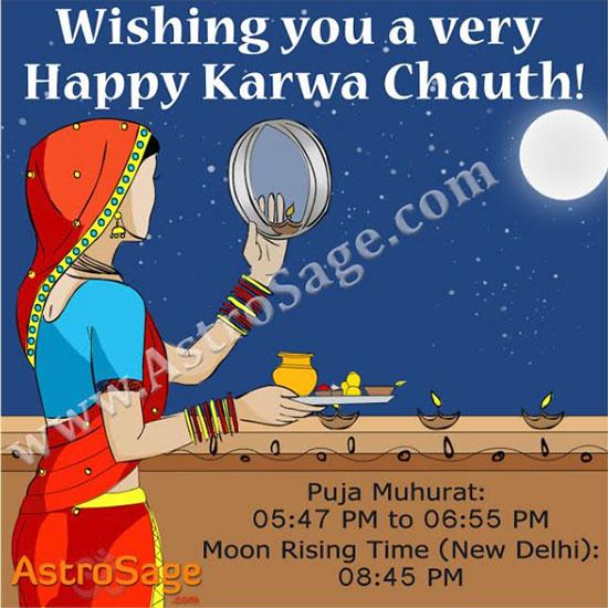 Karwa Chauth Vrat 2016