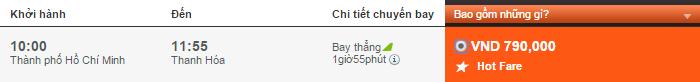Vé máy bay đi Thanh Hóa Jetstar