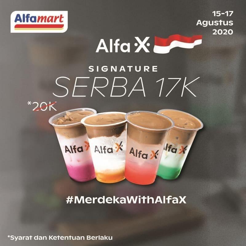 Promo Alfa X