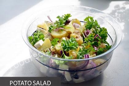 Recipe Potato Salad Without Mayonnaise Homemade
