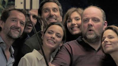 Selfie reparto El Juego