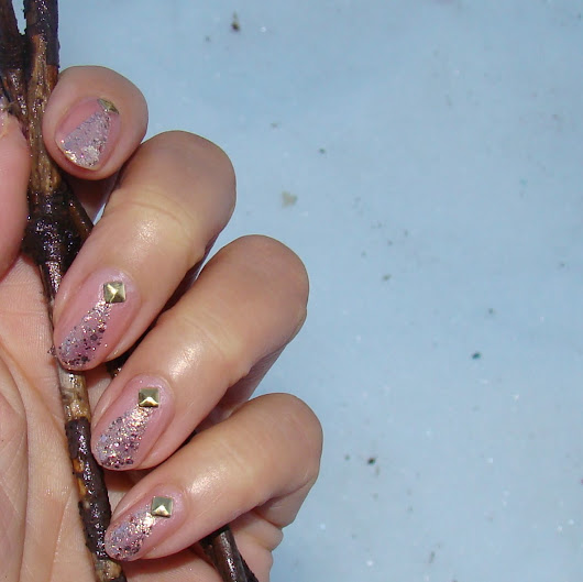 Hmm, How about some Rock Star Nail Art?
