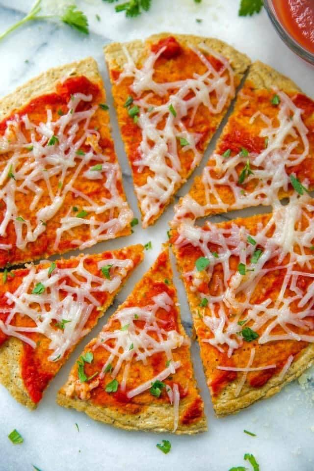 بيتزا بالشوفان