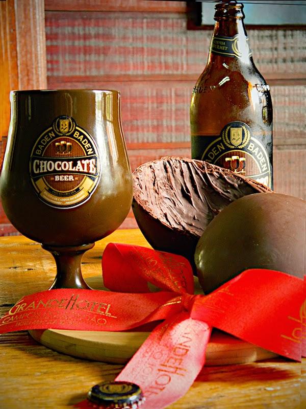 All Beers: Harmonização de Baden Baden Chocolate com Ovo de Páscoa  exclusivo Grande Hotel - Campos do Jordão/SP