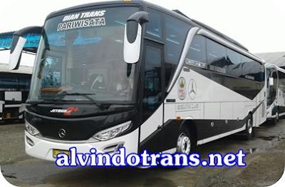 Bus pariwisata Diantrans Gemilang