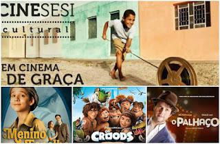 Cine Sesi Cultural de volta em Delmiro Gouveia nos dias 5,6 e 7 de Junho na Praça Nossa Senhora do Rósario