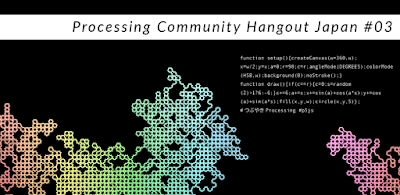 Processing Community Hangout Japan featured #つぶやきProcessing on Aug/30/2020.