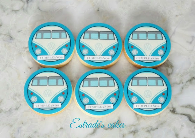 galletas de furgonetas con papel comestible 3