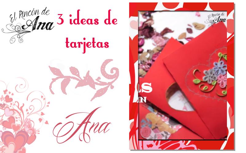 6 ideas de tarjetas para San Valentín