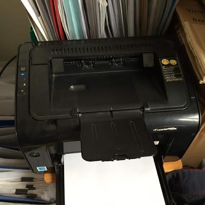 HP Laserjet P1102w | Máy in WIFI cũ Laser đen trắng A4 nhỏ gọn giá rẻ, bền bỉ 1