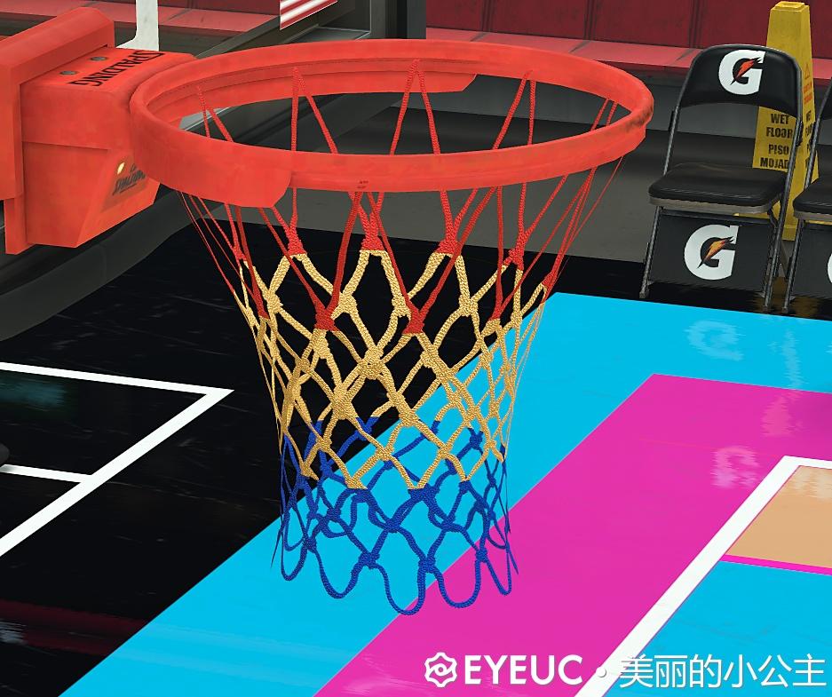 NBA 2K21 NBA NET Patch by 美丽小公主 [FOR 2K21]