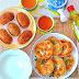 Chinese Pastries : Wu Kok & Xi'An Stuffed Pancakes