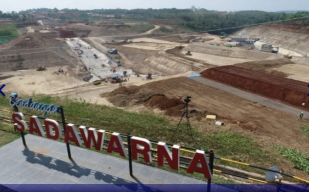 Rampung Setahun Lagi, Bendungan Sadawarna Akan Layani Irigasi Seluas 4.500 Hektare